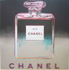 Chanel No. 5 Andy Warhol, 1980.