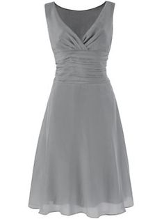 cute dress style, different colour for my bridesmaids though