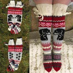 Knit Socks, Knitting Socks, Thick Socks, Mittens, Gloves, Winter, Tights, Slippers, Stockings