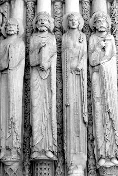 Chartres Cathedral. Detail.