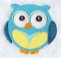 Wide-Eyed Baby Boy Owl design (F3053) from www.Emblibrary.com