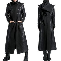 """think i would like it just as a jacket or shirt thing because I don't really like the """"leathery trench"""" look I would like it as a jacket :) or shirt thingy"""