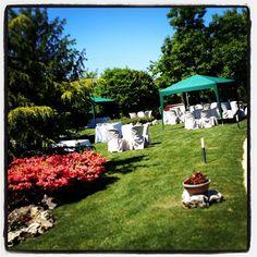 Pronti per l'aperitivo in giardino!!!