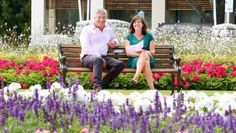 Garden Marlborough committee chairman Tim Crawford and marketing manager Julia Brown in Blenheim's Seymour Square, where . Julia Brown, Ticket Sales, Garden Show, Marketing, Big
