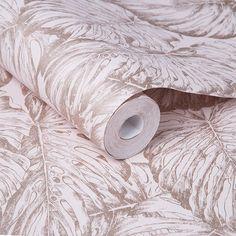 Tropical Blush Wallpaper