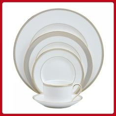 Vera Wang Wedgwood Golden Grosgrain Five-Piece Place Setting - Improve your home (*Amazon Partner-Link)