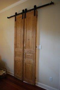 Double Barn Door Smaller For A Window