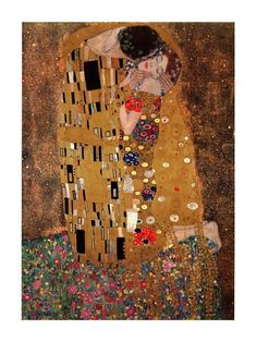 The Kiss, c.1908, Art Print by Gustav Klimt