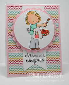 Art... by TreasureOiler - Cards and Paper Crafts at Splitcoaststampers