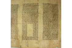 9.4 The Book of Ecclesiastes Scroll Megillah on Parchment, Poland, Circa 1880.Hebrew,