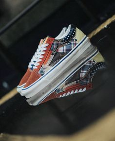 Size? x Vans Vans Slip On, Rubber Shoes, Bmx, The Help, Skateboard, Sneakers, Sneaker, Skateboards, Bicycles