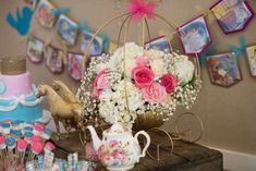 Cinderella Birthday Party Ideas | Photo 2 of 30 | Catch My Party