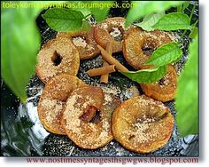Baked apples in the oven or grill with whipped cream English Food, English Recipes, Baked Apples, Whipped Cream, Bagel, Grilling, Oven, Projects To Try, Bread