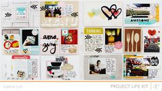 Project Life | Week 26 *Mark & Co PL Kit* by findingnana at @studio_calico