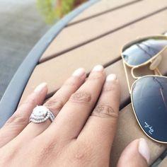 That almost summer blinG  #ringbling #engagementring #weddingring #myring #dreamring #diamondring #diamonds #etsyshop #etsybride #2016bride #theknotrings #apbling #isaidyes #shesaidyes #married #hubbywifey #raybans #summer #coachella #california #bridesrings #engaged #proposal #fiance #weekend #saturdaze #instabride #instalove #ringoftheday