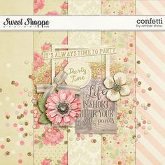 Thursday's Guest Freebies ~ Sweet Shoppe  ✿ Follow the Free Digital Scrapbook board for daily freebies: https://www.pinterest.com/sherylcsjohnson/free-digital-scrapbook/ ✿ Visit GrannyEnchanted.Com for thousands of digital scrapbook freebies. ✿