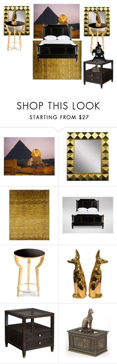 """""""Egyptian Room ideas"""" by dasiy89 on Polyvore featuring interior, interiors, interior design, home, home decor, interior decorating, PTM Images, Ethan Allen, Cyan Design and DutchCrafters"""
