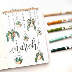 Decorating your March bullet journal? Here are the top 15 best March bullet journal cover ideas for you to copy in your 2021 bullet journal! Bullet Journal Title Page, Bullet Journal Paper, February Bullet Journal, Bullet Journal Cover Ideas, Bullet Journal Lettering Ideas, Bullet Journal Notebook, Bullet Journal School, Bullet Journal Inspiration, March Themes