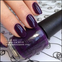 OPI O Suzi Mio – OPI Venice Collection 2015
