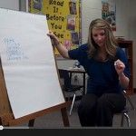 Video of a kinder close reading lesson