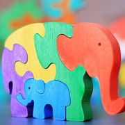 Wooden kids toys Handmade toy puzzle and por ArtGiftStoreEcoToys