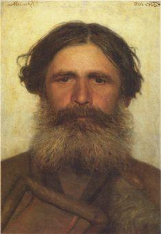 Портрет крестьянина. 1868