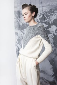 Ombu sweater #knitwear #handmade #alba #merino