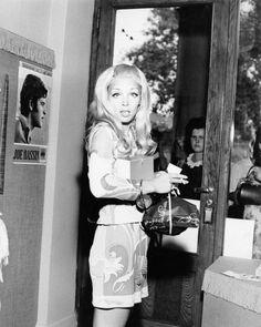 Italian singer Patty Pravo, 1960s