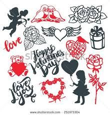 Image result for valentine silhouette