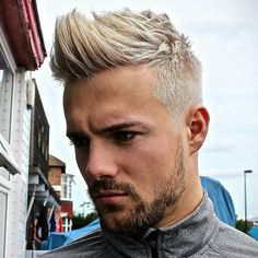 Blonde hair for men 2016 - Top tips for men thinking of dying their hair blonde
