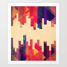 Night+Visions:+Textiles+Art+Print+by+Caleb+Troy+-+$15.00