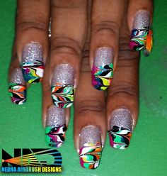 Disco Ball Shine by Skyylaudez - Nail Art Gallery nailartgallery.nailsmag.com by Nails Magazine www.nailsmag.com #nailart