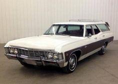 1967 Chevrolet Caprice Kingwood Station Wagon