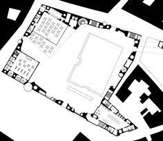 Ciudad del Flamenco, Jerez de la Frontera, 2003 Herzog & de Meuron arch. Test Plan, Plan Drawing, Architecture Drawings, Master Class, Give It To Me, Floor Plans, Diagram, Concept, Map