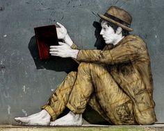 Nuovo pezzo dello street artist francese Levalet.