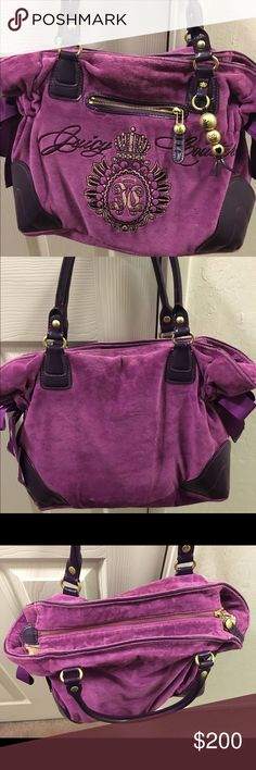 6ab44a504646 Juicy couture Purse Lightly used in good condition Juicy Couture Bags  Shoulder Bags Juicy Couture Purse