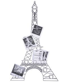 eiffel tower photo frame so cute