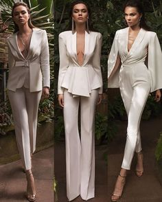 ❤️ by york life style Elegant Outfit, Classy Dress, White Outfits, Classy Outfits, Suit Fashion, Fashion Dresses, Mori Fashion, Fashion Clothes, Style Fashion