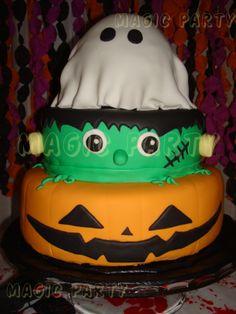Tarta de Halloween - Halloween Cake
