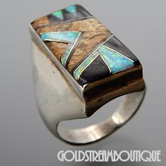 Metal: Silver Metal Purity: Hallmark: CC STERLING Size: 11 Artisan: Unknown Tribe Affiliation: Zuni Width ( inches / mm ): / Weight ( gram ): Condition: Vintage PLEASE BE ADVISED: We sell vintage pre-owned and antique items (except for those describe