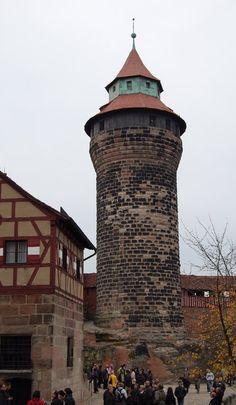 | Sinwell Tower at Nurnberg Castle, Nurnberg, Germany