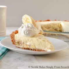 Banana Pudding Cheesecake ~ DIY Craft Project
