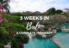 Thinking about spending three weeks in Bali? This itinerary includes where to go, stay, and eat, plus how much three weeks in Bali costs.