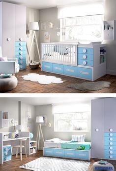 Cunas Transformables RIMOBEL. Disfrútalas durante mucho tiempo!!! http://rimobel.es/index.php/es/rimobel/mundo-joven/infantil
