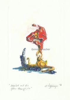 Gemäldemacher . Joachim R. Niggemeyer: Titel: Samuel und die guten Hausgeister