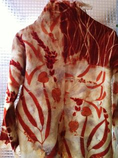 irit dulman clothing | Beautiful Eco Printed Jacket (Unfortunately the instructions are not ...