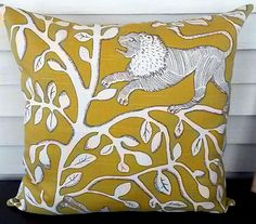 Yellow Accent Pillow by MyCaseyGirl on Etsy