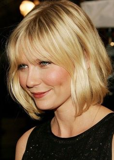 Gwyneth Paltrow. Perfect bangs and cut aroubd the face, perhaps a bit too short for me!