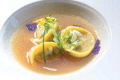 """""""Tortello alla genovese"""" dello chef Christoph Bob del Monastero Santa Rosa & Spa di Conca dei Marini (SA) #lamadia #lamadiatravelfood #food"""