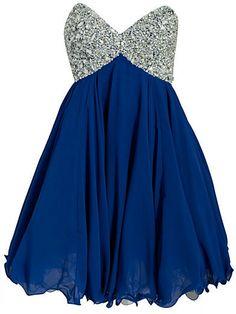 Party Dresses,cocktail dress,Dark blue mini dress